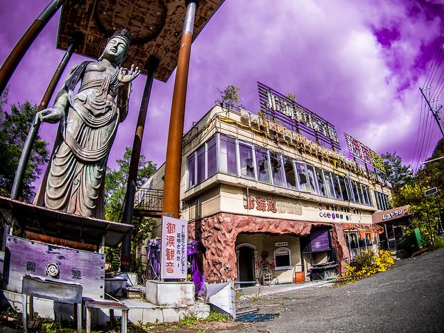 定山渓温泉の秘宝館